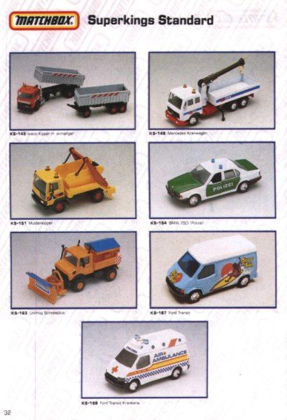 catalogue matchbox 1991 m30