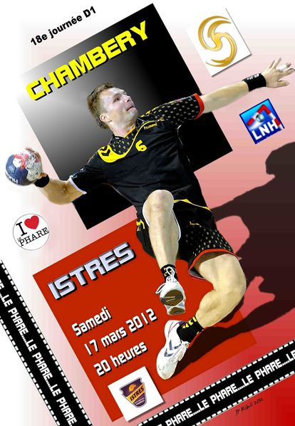 Affiche-D1-CHAMBERY--ISTRES--17-Mars-2012--jpg