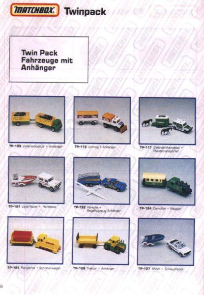 catalogue matchbox 1991 m08