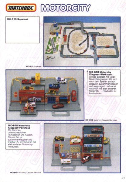 catalogue matchbox 1991 m19