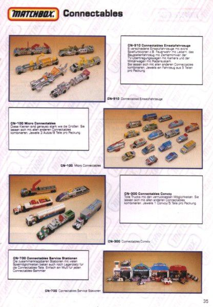 catalogue matchbox 1991 m33