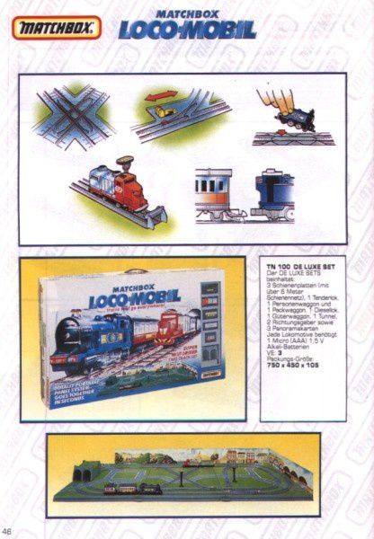 catalogue matchbox 1991 m44