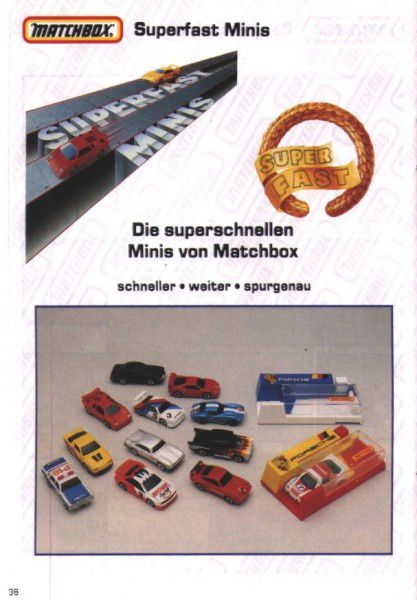 catalogue matchbox 1991 m36