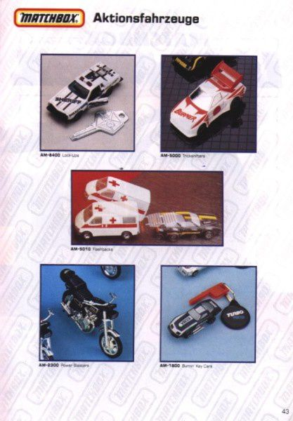 catalogue matchbox 1991 m41