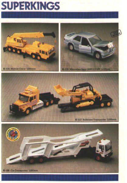 catalogue matchbox 1987 p29 mercedes 190e