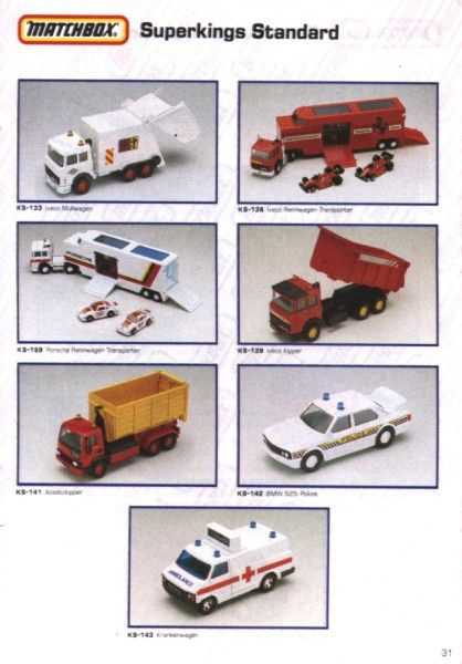 catalogue matchbox 1991 m29