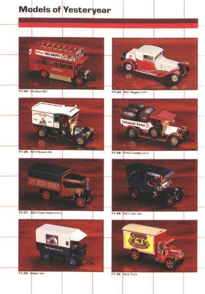 catalogue matchbox annee 1989 t64