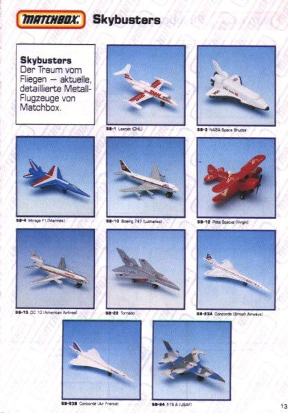 catalogue matchbox 1991 m11