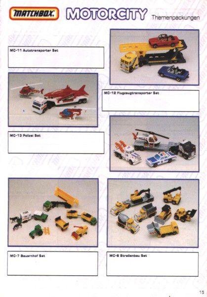 catalogue matchbox 1991 m13