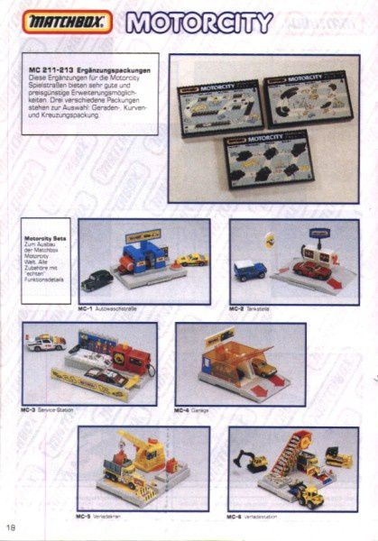catalogue matchbox 1991 m16