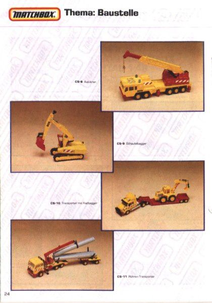 catalogue matchbox 1991 m22