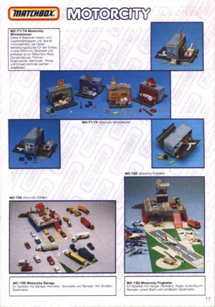 catalogue matchbox 1991 m15
