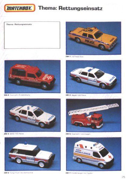 catalogue matchbox 1991 m23