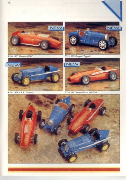 catalogue matchbox 1986 p39 ferrari dino