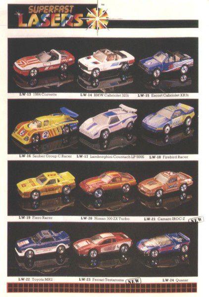 catalogue matchbox 1988 f16