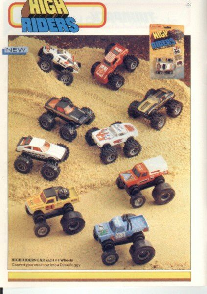 catalogue matchbox 1986 p12 high riders