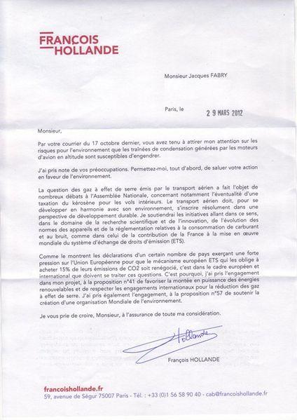 président pour tous signature François Hollande 29 mars 2