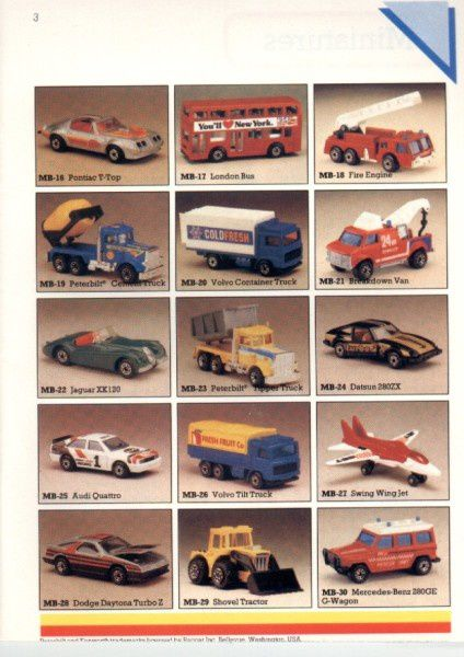catalogue matchbox 1986 p03