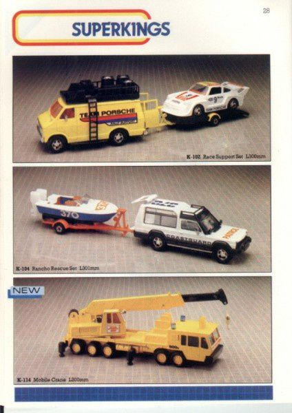 catalogue matchbox 1986 p28
