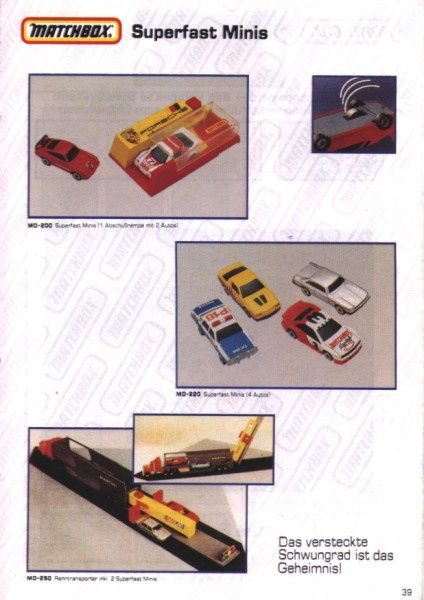catalogue matchbox 1991 m37