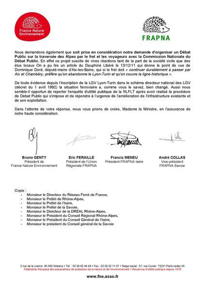 2012-01-13 Lettre à NKM report EUP Lyon Turin Page 2