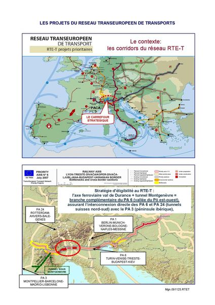PROJETS PRIORITAIRES RTE-T