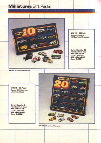 catalogue matchbox annee 1989 t12
