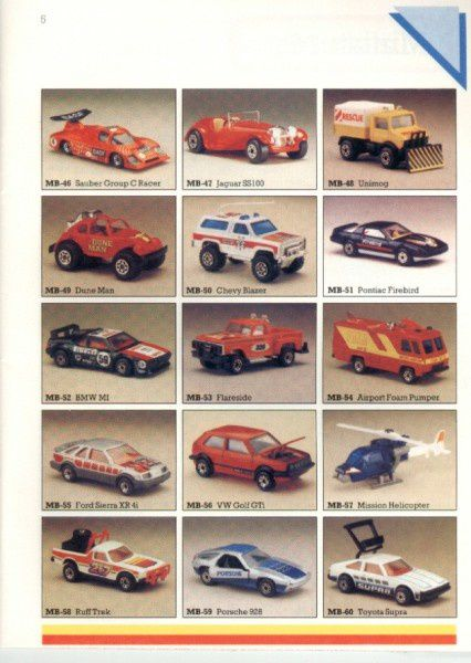 catalogue matchbox 1986 p05