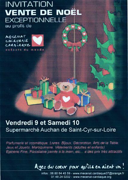 Vente de Noël 2011 - Mécenat Chirugie Cardiaque