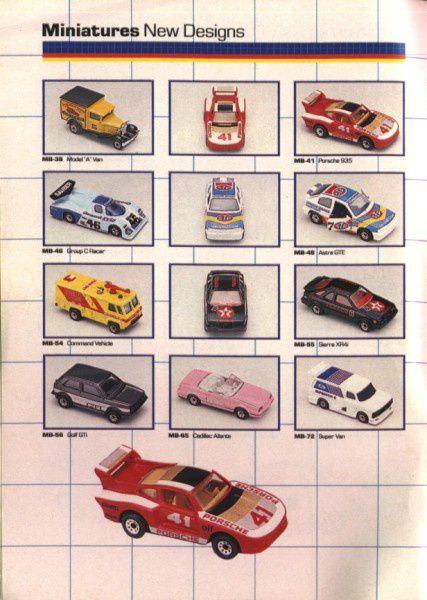catalogue matchbox annee 1989 t04