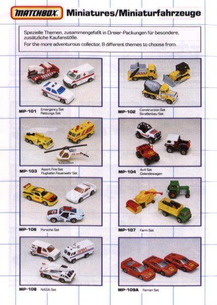 catalogue matchbox 1990 s09