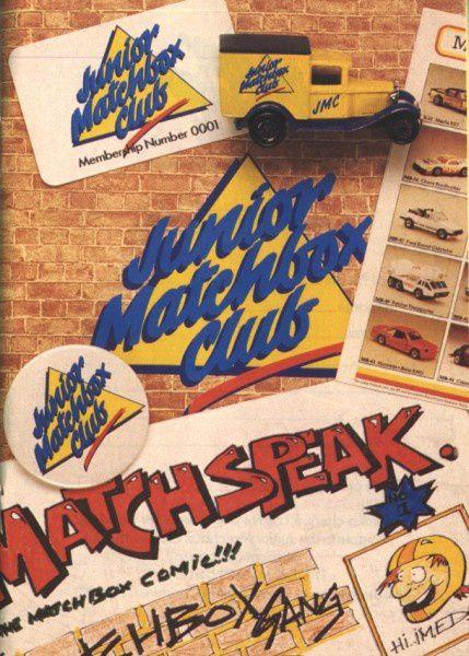catalogue matchbox 1988 f41 junior matchbox club