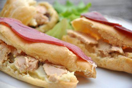 éclairs foie gras