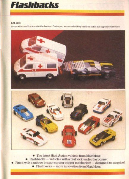 catalogue matchbox 1988 f78 flashbacks