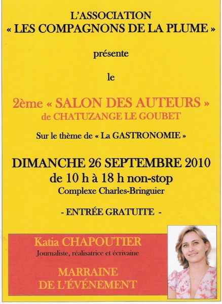 2e salon des auteurs