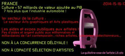 guillotine artiste lili-oto