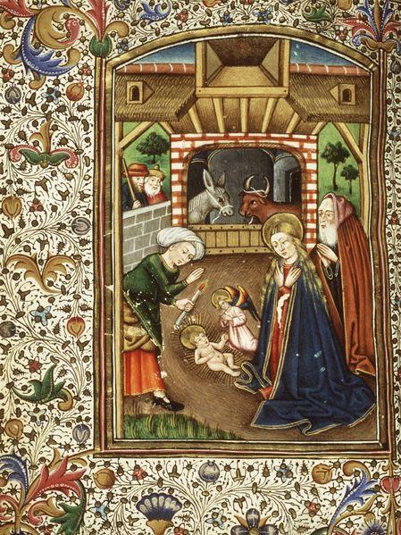 135j55 084v naissance de Jésus La Haye