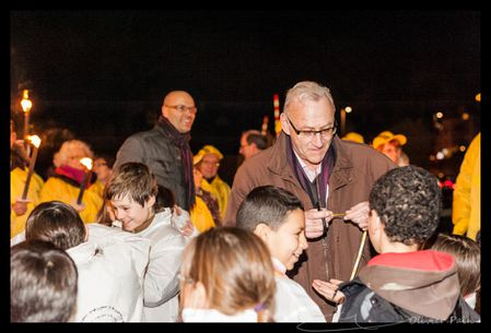 Reportage lors du téléthon de la maison des associations de Joué les Tours par Olivier Pain reporter