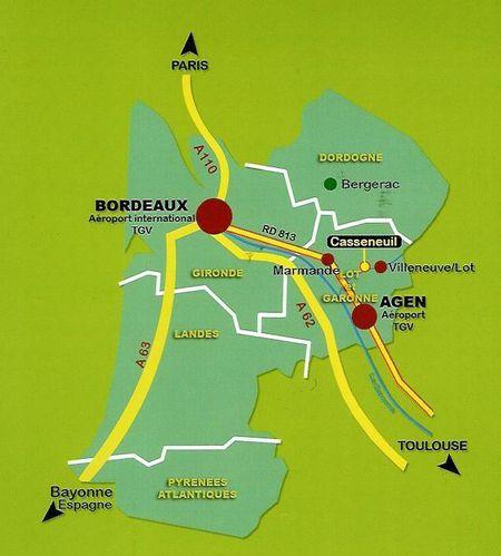 Casseneuil (situation)