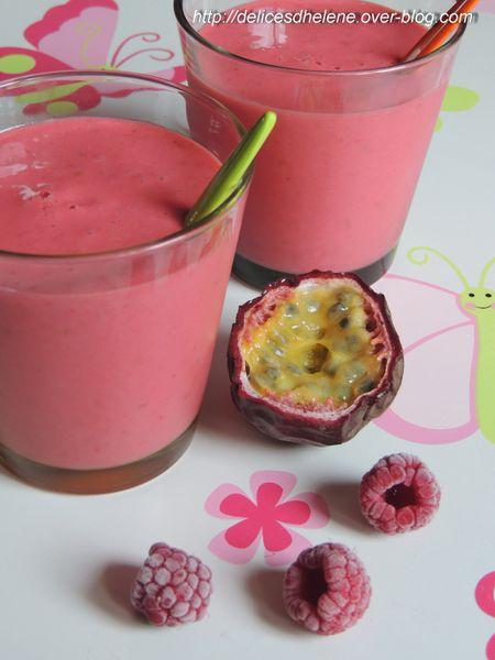 smoothie passioné aux framboises (1)