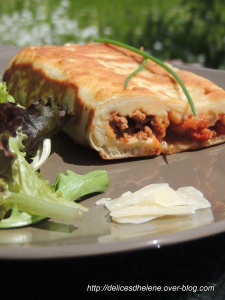 cheese naan à la viande hachée (4)