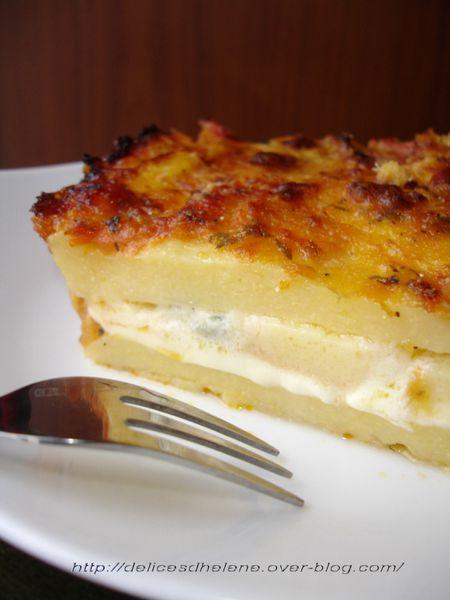 polenta à la tomate et aux fromages (2)