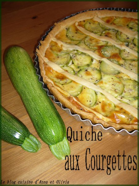 quich courgettes