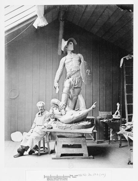 jean-leon-gerome-orsay-photo gladiateurs