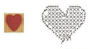 coeur rouge-