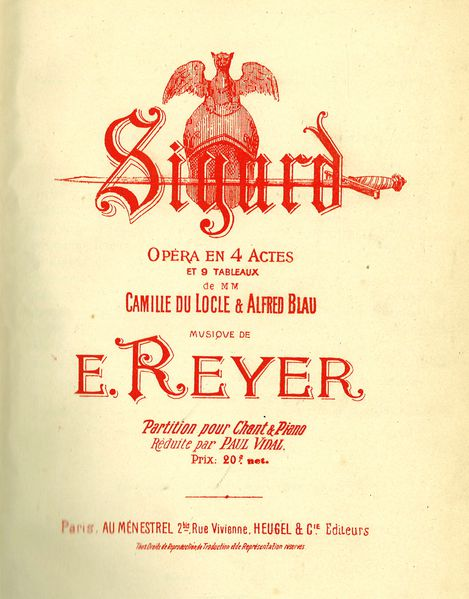 opera sigurd