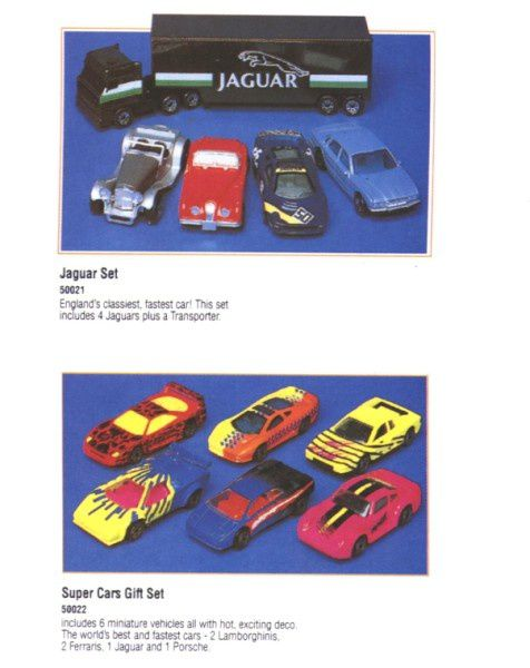 catalogue matchbox 1995-96 l07