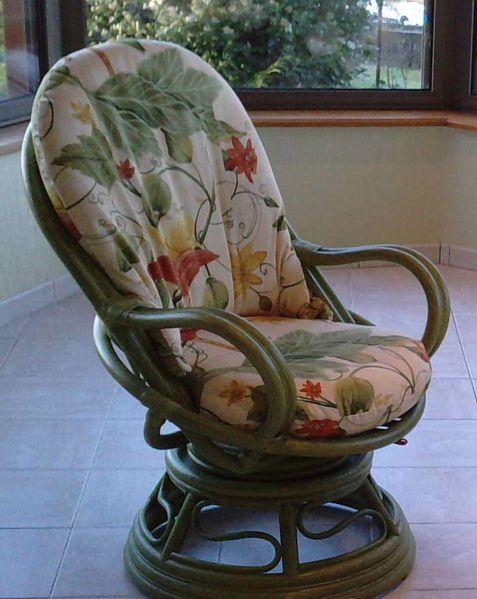 04 fauteuil rotin pivotant 02 Exodia