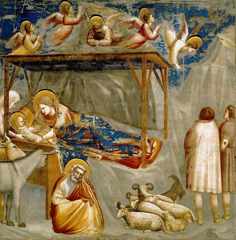 Giotto, Nativité