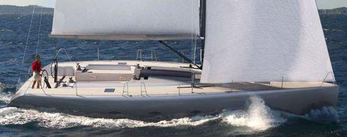 voilier Ionic 48 au Festival de la Plaisance de Cannes